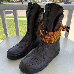 Nike Air Force 1 Hi Boot Men's aa1128-204 Sz 10